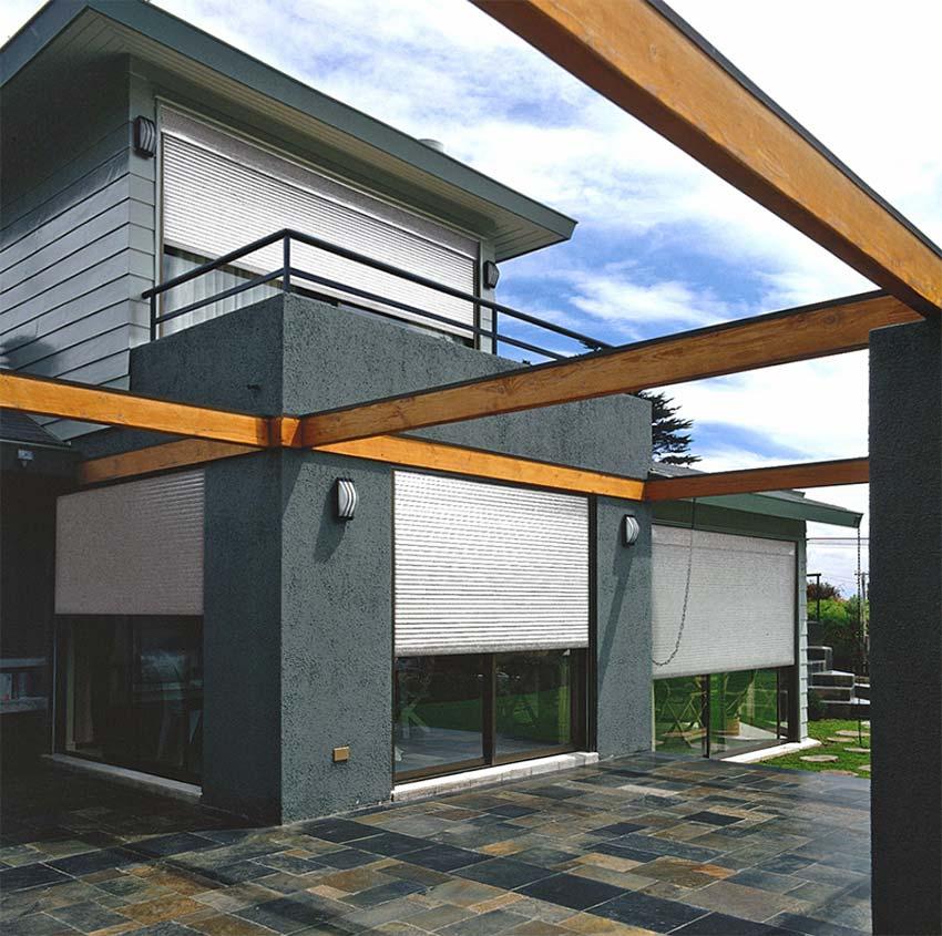 Cortinas para balcones exteriores top las cortinas de cristal les permiten tener su terraza - Estores para balcones ...
